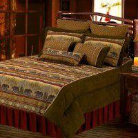 Lodge Bear Comforter Set-Full-CLEARANCE