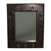 Lardeo Embroidered Star Mirror