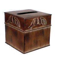 Metal Pine Cone Tissue Box