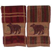 Bear Towel Sets