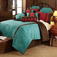 Cheyenne Turquoise Comforter Set