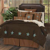 Turquoise Star Comforter Sets