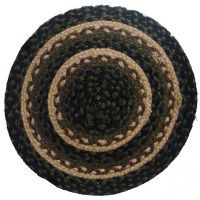 Pine cone Braided Chair Pad (Set of 4)