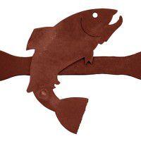 Fish Coat Rack