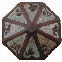 Pine Cone Ceiling Light - 2 Sizes