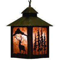 Elk Lantern Pendant Light