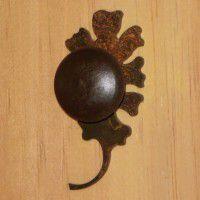 Oak Leaf Cabinet Knob-CLEARANCE