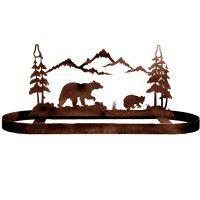 Bear Family Pot Rack