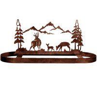 Deer Family Pot Rack