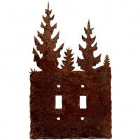 Pine Tree Switch Plates