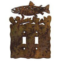 Trout Light Switch Plates