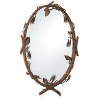 Ponderosa Pinecone Mirror