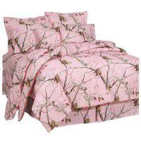 AP Pink Camouflage Bedding