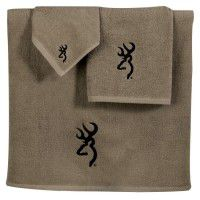 Browning Buckmark Towel Set - 3 Pcs