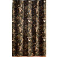 Camo Deer Shower Curtain