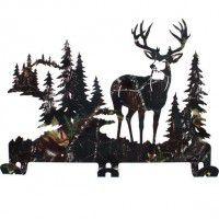 Alpine Mule Deer Coat Rack