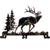 Camo Elk Coat Rack