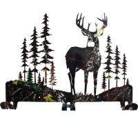 Whitetail Deer Coat Rack