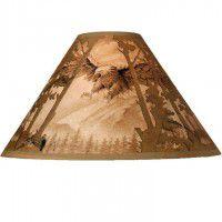 Scenic Eagle Lamp Shade