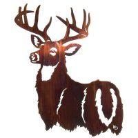 His Majesty - Deer Metal Art