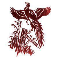 Ringneck Pheasant Metal Wall Art