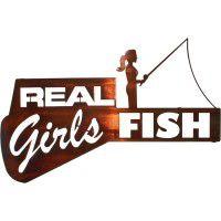 Real Girls Fish Sign