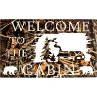 Welcome to the Cabin Metal Signs