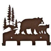 Bear Family Wall Hook