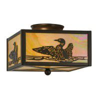 Loon Ceiling Light
