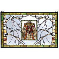 North Country Basket Stained Glass Window