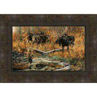Fall Ritual Moose Print