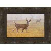 Foggy Morning Deer Print