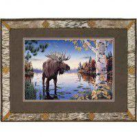 Autumn Majesty Moose Print