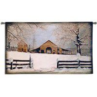 Winter's Gift Wall Tapestry