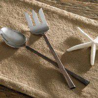 Copper Handle Serving Set