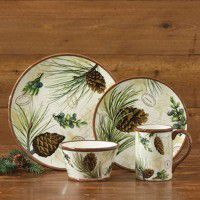 Walk in the Woods Dinnerware - 16 Piece Service for 4