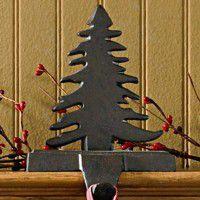 Pine Tree Stocking Holder