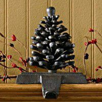 Pine Cone Stocking Holder