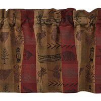 High Country Woods Valance