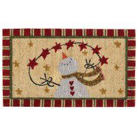 Home for the Holidays Door Mat-CLEARANCE