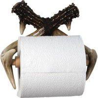 Faux Antler Toilet Tissue Holder