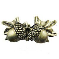 Double Acorn Drawer Pull