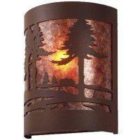 Timber Ridge Cabin Sconce