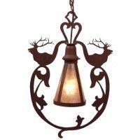 Bavarian Elk Pendant Light