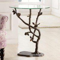 Bird & Pine Cone Table