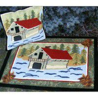 Boat House Pillows and Rugs-CLEARANCE