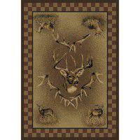 Whitetail Ridge Deer Rug Collection