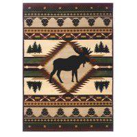 Moose Wilderness Rugs