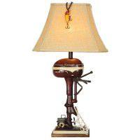 Vintage Boat Motor Lamp