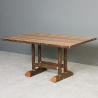 Northwoods Hickory Trestle Tables